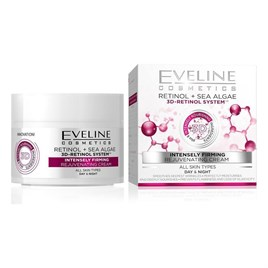 Eveline 3D Retinol & Sea Algae intensely Firming 50ml